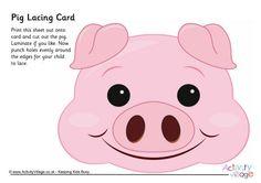 Pig lacing card 2