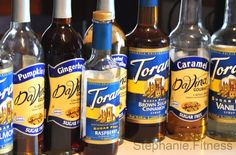 DaVinci and Torani sugar free syrups... not just for coffee.... however ... low to no carbs and zero calories
