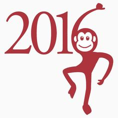 2016, YEAR OF THE MONKEY. available on t-shirts and 26 other products.