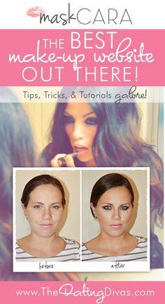 Leuke site met handige make-up tips.Er staan ook filmpjes op van youtube waarin stap voor stap wordt uitgelegd hoe je een bepaalde make-up aanbrengt.Ook er leuk zijn de voor en na foto's.