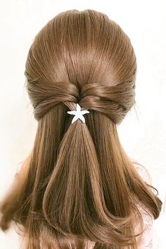 Hairdo For Long Hair, Bun Hairstyles For Long Hair, Braids For Short Hair, Girl Hairstyles, Hairstyles Videos, Hair Ponytail Styles, Front Hair Styles, Medium Hair Styles, Hair Style Vedio