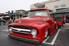 1956 Ford F-100, I'll own this beauty some day.