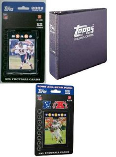 2008 Topps NFL Team Gift Sets - Chicago Bears. Each 2008 Topps NFL Team Gift Sets Will Contain A 2008 Topps NFL Team Set (14 Cards), A Topps Album With (10) 9-Pocket Pages, And 5 Packs of 2009 Topps Blaster Loose Packs  2008 Topps NFL Team Gift Sets - Chicago BearsSport Theme: FootballLeague: NFLTeam: Chicago Bears