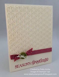 Curly Season's Greetings by LaLatty - Cards and Paper Crafts at Splitcoaststampers