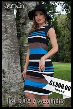 ¡Hermoso diseño con bellos colores para la temporada! #KarenKein