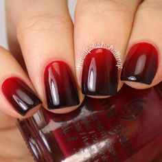 Ombre nails might be fantastic match to your clothes or accessories. The brief oval nails will also prove good when you have brief nail beds. These cute pumpkin nails may appear a bit tricky but you'll quickly see they are unbelievably simple to craft! Ombre Nail Colors, Black Ombre Nails, Nails Yellow, Nail Color Trends, Gradient Color, Burgundy Nails, Burgundy Wine, Ombre Nail Art, Black And Purple Nails