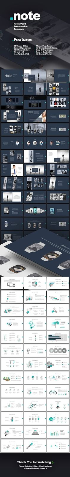 Bandle 3 presentation template by oyunerdene99 on @creativemarket