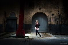 Jenny Brook by Blaise Lovegrove + link to nice article on urban portrait photography                                                                                                                                                                                 More