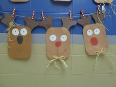 First Grade Blue Skies: reindeer!