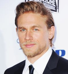 In Honor of Tonight's Sons of Anarchy Series Finale, Let's Take a Moment to Appreciate Charlie Hunnam  #InStyle
