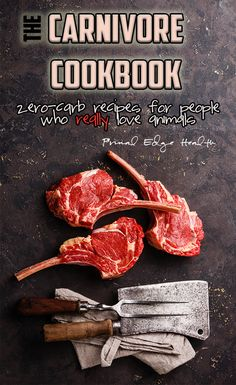The Carnivore Cookbook: zero-carb recipes for people who really live animals is here to demystify the preparation of animal-based nourishment. With a focus on nutrient density and nose-to-tail variety, this book teaches the basics for all diet types. Ketogenic Recipes, Meat Recipes, Low Carb Recipes, Real Food Recipes, Healthy Recipes, Keto Foods, Low Carb Vegetables, Diets For Beginners, Base Foods