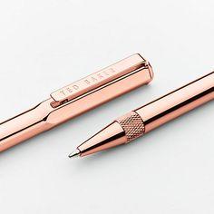 Buy Ted Baker 24k Ballpoint Pen, Rose Gold Online at johnlewis.com