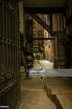 View Stock Photo of New York City Alley. Find premium, high-resolution photos at Getty Images. Alleyway, High Resolution Photos, New York City, Art Ideas, Nyc, Stock Photos, New York