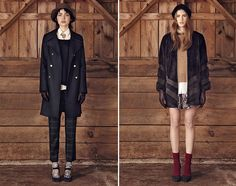 Club Monaco is always so well versed when it comes to mastering the art of layering