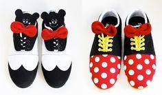 Dressed up Disney Oxfords :)