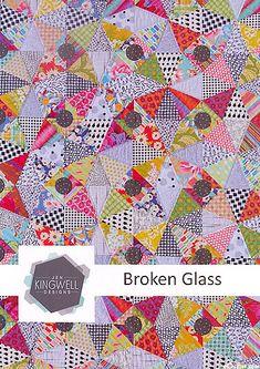 Broken Glass - Quilt Pattern by Jen Kingwell Designs
