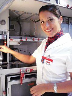 .TAM Airlines cabin crew