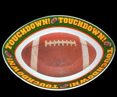 #Tailgating Touchdown #Football Serving Bowl #SundayNFL @LootByLouise $14.99 http://etsy.me/1uWyF0o via @Etsy #melamineservingbowl #footballparty