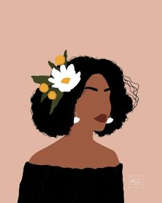 illustration art black and white ; Illustration Art Dessin, Portrait Illustration, Woman Illustration, Illustration Fashion, Watercolor Illustration, Watercolor Art, Black Girl Art, Black Women Art, Art Sketches