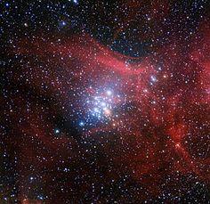 L'amas d'étoiles NGC 3293