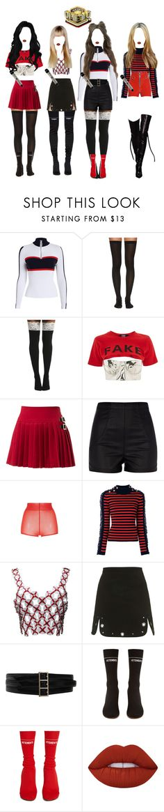 """""""《INKIGAYO》 Crybaby 17.12"""" by bittersweet-official ❤ liked on Polyvore featuring Wolford, Jaded, River Island, N°21, Manoush, Paco Rabanne, Topshop, Oscar de la Renta, Vetements and Dilara Findikoglu"""