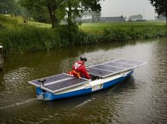 The Frisian Solar Challenge for boats - Images