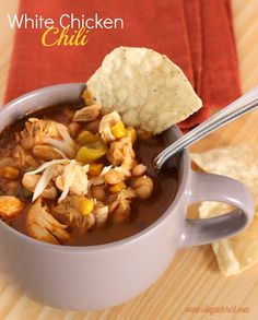 Hearty White Chili with Chicken on MyRecipeMagic.com