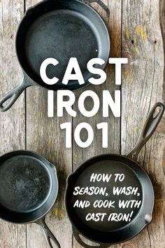 At the campsite or in your home kitchen, cast iron is the workhorse cookware you need. Learn everything you need to know about cooking with, cleaning, and seasoning cast iron so that it will be the first pan you reach for year after year. Cast Iron Skillet Cooking, Iron Skillet Recipes, Cast Iron Recipes, Skillet Meals, Cooking With Cast Iron, House Cleaning Tips, Cleaning Hacks, Cleaning Cast Iron Pans, Cast Iron Care