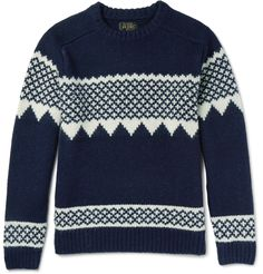 Beams Plus knit wool sweater