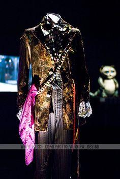 Johnny Depp's Mad Hatter costume - Tim Burton @ ACMI #johnnydepp