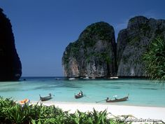 Part one of the Thailand blog post trilogy.  A tale of paradise, Phi Phi and Ping Pong Balls...Click on the photo to read the blog!