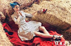 Katy looks amazeballs! As much as I like her, I never thought I'd be pinning her to my style aspiration board! :P