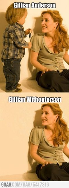 Gillian Anderson  Gillian Withouterson