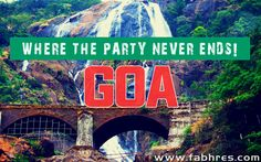 Goa - where the party never ends!