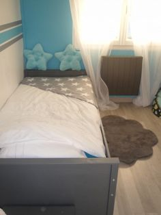Chambre enfant Cyan Gris Idees