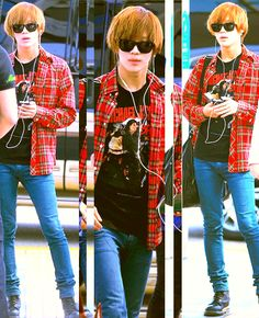 """Airport Fashion: The Lee Taemin """"I'm Too Cool For School"""" Edition"""