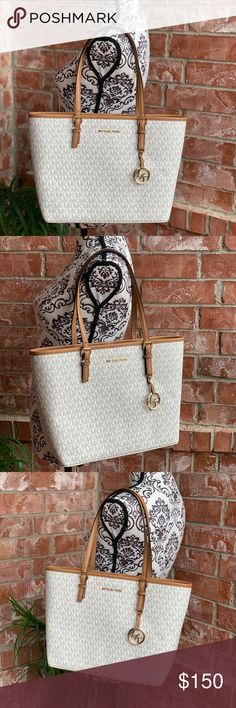 6e79d277a4cf0c Michael kors jet set travel medium carryall tote From MICHAEL Michael Kors  Jet Set Travel collections