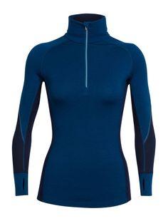 BodyfitZONE Winter Zone Long Sleeve Half Zip