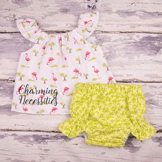 Baby Girl Clothes Toddler Girl Clothes Baby от CharmingNecessities