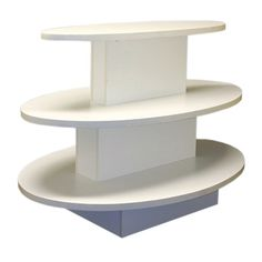 3 Tier Display & Store Display Fixture With Durable Laminate Finish Subastral
