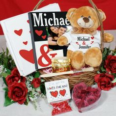 valentines day baskets ideas for him