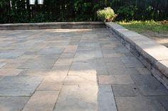 diypatio, flagstone, patio, brick, yard, outdoor