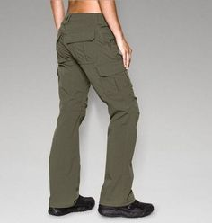 WOMEN'S UA TACTICAL PATROL PANTS  These are no ordinary pants. These pants were built for the women who serve and PROTECT THIS HOUSE - so you know they're