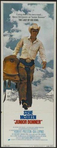 steve mcqueen poster for Junior Bonner (1972)