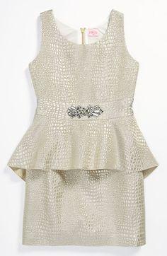 tween peplum dresses - Google Search
