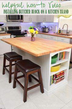 16 best butcher block island countertop images decorating kitchen rh pinterest com
