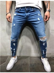 Tommy HILFIGER DENIM Ryan Uomo Jeans LADR REGULAR STRAIGHT FIT BLU SCURO
