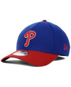 New Era Philadelphia Phillies Mlb Team Classic 39THIRTY Cap - Blue S/M