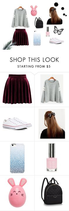 """Autumn"" by carmis-leon on Polyvore featuring moda, Converse, Topshop y outfit"