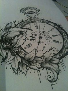 Pocket watch http://tattoo-ideas.us